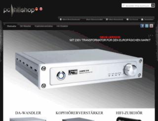 pc-hifi-shop.com screenshot