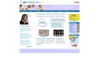 pc-telephone.com screenshot