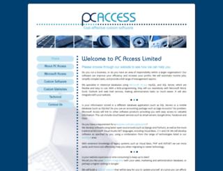 pcaccess.co.uk screenshot