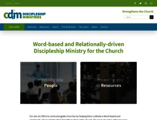 pcacdm.org screenshot