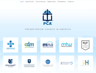 pcanet.org screenshot