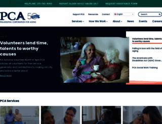 pcaphl.org screenshot