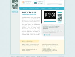 pcaps.phmc.org screenshot