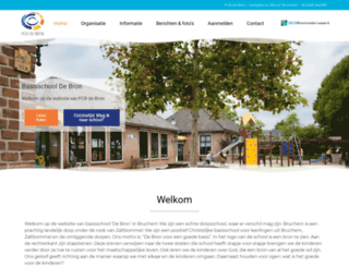 pcbdebron.nl screenshot