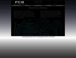 pcbdesignteam.com screenshot