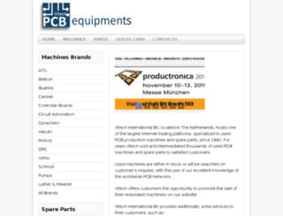 pcbequipments.com screenshot