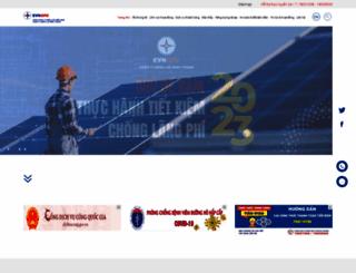 pcbinhthuan.evnspc.vn screenshot