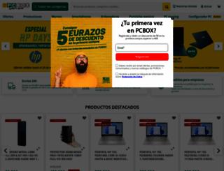 pcbox.com screenshot