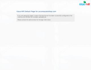 pccomputershop.com screenshot