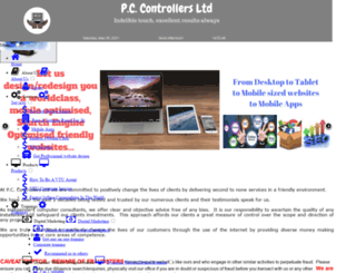 pccontrollers.net screenshot