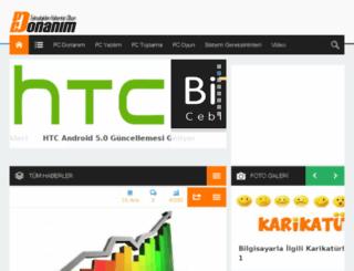 pcdonanim.com screenshot