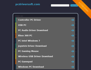 pcdriversoft.com screenshot