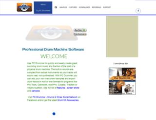 pcdrummer.com screenshot