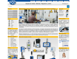pce-iberica.es screenshot