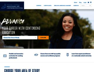pce.sandiego.edu screenshot