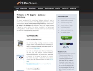 pcesoft.com screenshot