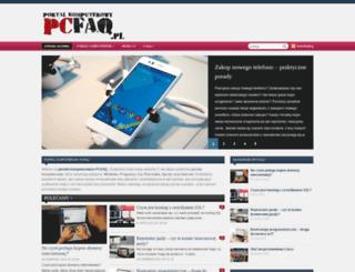pcfaq.pl screenshot