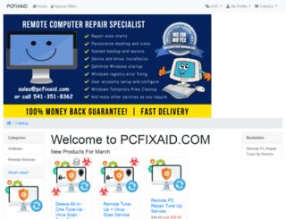 pcfixaid.com screenshot
