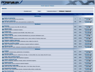 pcforum.sk screenshot