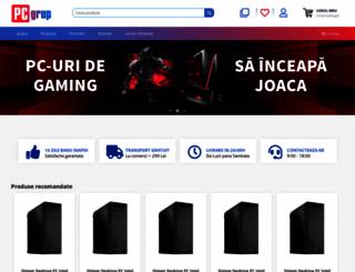pcgrup.ro screenshot