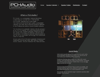pchaudio.co.uk screenshot