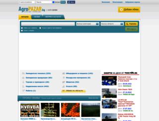 pchelnik-dobrich.agropazar.bg screenshot