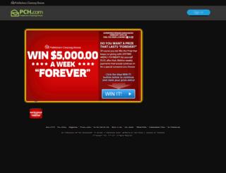 pchsaveandwin.com screenshot