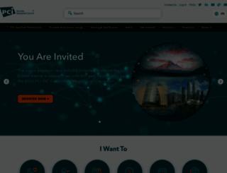 pcisecuritystandards.org screenshot