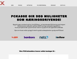 pckasse.no screenshot