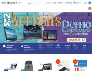 pclaptops.co.za screenshot