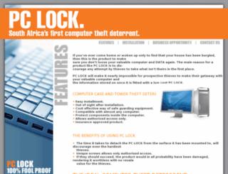 pclock.co.za screenshot