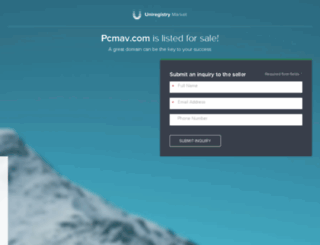 pcmav.com screenshot