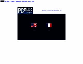 pcmusic.org screenshot