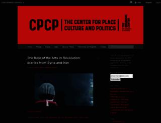 pcp.gc.cuny.edu screenshot