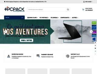 pcpack.fr screenshot