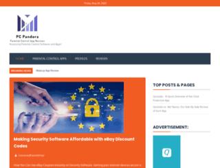 pcpandora.com screenshot