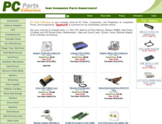 pcpartscollection.com screenshot