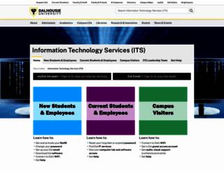 pcpc.dal.ca screenshot
