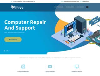 pcpluscomputing.com screenshot