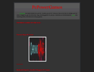 pcpowergames.blogspot.co.nz screenshot