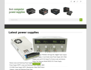 pcpowersupplys.com screenshot