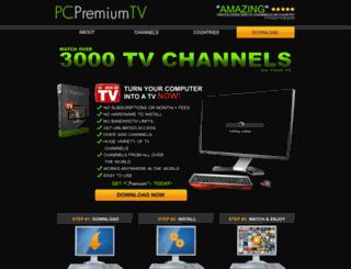 pcpremium.tv screenshot