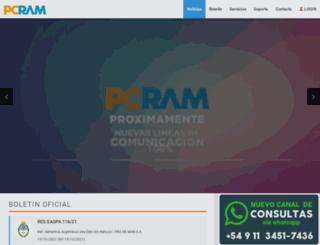 pcram.net screenshot