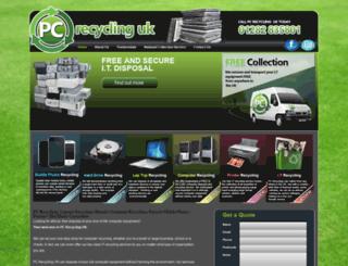 pcrecyclinguk.co.uk screenshot