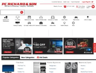 pcrichards.com screenshot