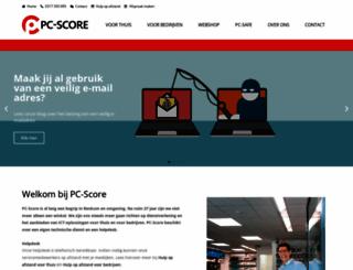 pcscore.nl screenshot