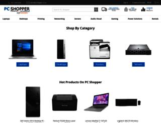pcshopper.co.za screenshot