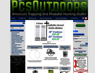 pcsoutdoors.com screenshot