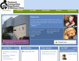 pcspayneuter.vetstreet.com screenshot