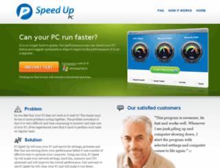 pcspeedup.co.uk screenshot